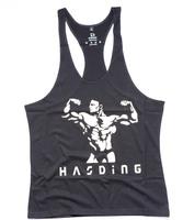 2014 High Quality Cotton Mens Bodybuilding Male GymTank Top Vests Bodybuilding Singlets Shirt Stringer Sport  Fitness Vest Hot