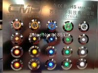 Manufacturer Factory Export  Metal Led Signal Lamp  ,2v 6v 12v 24v 220v , Waterproof IP67 Pilot Indicator Light