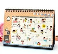 Creative 2015 desk calendar desk calendar with the lunar desktop notebook