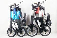 2015 HOT New 10 inch folding bike men& women ultra light mini portable bicycle road bike Multi-function alumiun folding bicycle(China (Mainland))
