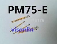 FREE SHIPPING 100PCS/LOT PM75-E 1.3mm Convex Tip 27.8mm Length Spring Testing Probes Pin