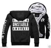 NEW Dean Ambrose Men's Jacket Sweater Hoodies Thickening Plus velvet Free Shipping