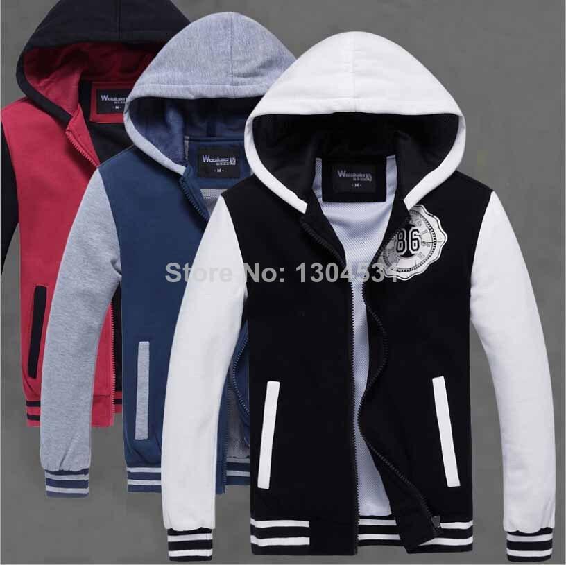 Varsity Jacket Black/blue/