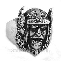 Free shipping! Gothic Skull Ring Grim Reaper Ring Stainless Steel Jewelry Classic Motor Biker Skull Ring SWR0268
