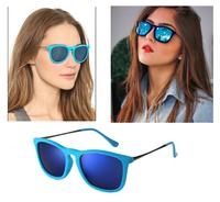 Hot 2015 RB Sunglasses Women Brand Designer Sun Glasses Erika Velvet Frame LOGO Eyewear Women Vintage Oculo De Sol Feminino 4187