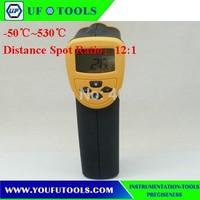 UF-8530 Hand-held Portable Digital Medium Temperature Infrared /Mini Infrared Thermometer -50~530 degree