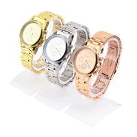 1pcs High Quality Women Girl WristWatch Unisex Exquisite Charm Fashion Stainless Steel Quartz Wrist Watch