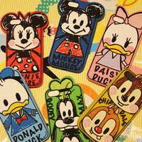 Graffiti Mickey Minnie Mouse Donald Duck  Silicone Cover Back Phone Cases Skin Protector For Apple Iphone 5 5S Free Shipping