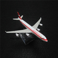 13cm Alloy Metal Airplane Model Air Mauritius Airlines Airbus 340 A340 Airways Plane Model W Stand Aircraft Toy Gift