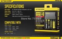 2014 Nitecore i4 LCD Digicharger Charger Smart multi-function charger For IMR/ Li-ion/LifeP04/Ni-MH/Ni-Cd Batteries