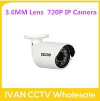 Escam Brick QD310 bullet waterproof CCTV Security Camera 720P IR  H.264 1/4 CMOS IP Camera Night Vision P2P 1.0MP Mini Camera