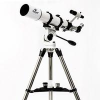astronomical  Telescope   Gskyer  90AZ / EQ large-caliber high-powered refracting telescope