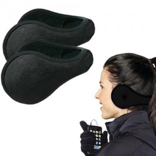 1 Pack Women Men Winter Ear Warmers Behind The Ear Style Fleece Muffs(China (Mainland))