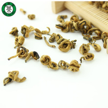 100g Superfine Mellow Handmade Golden Snail Yunnan Red Tea Chinese Black Tea T199