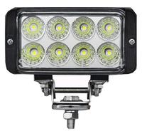 New 10-30V 24W 1750lm Rectangle LED Work Light spot Beam Roads Lamp Light For car ATV Truck/ Boat Light