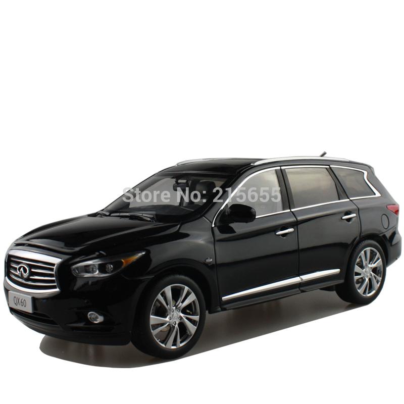 DIE-CAST MODEL,DEALER 1:18,Infiniti QX60,luxury SUV,BLACK,RARE(China (Mainland))