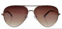Quality Stainless Steel Frame CR-39 Lenses Aviator Sunglasses 9639 Men Women 9638