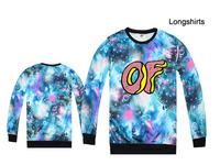 new 2015 Autumn and winter odd Future hoodies men and women hoodie skateboard Hip-hop printed sweatshirt Odd future Hoodies