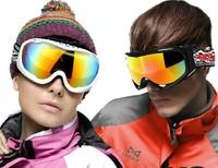 Double lens antimist windproof ski glasses professional ski goggles unisex multicolor mountaineering cycling sunglasses 613