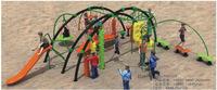 kids outdoor rope adventure structure