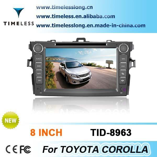 "HD Touch Screen 8"" TOYOTA COROLLA 2012 Car DVD GPS,3D Rotating UI,PIP,SWC ,Radio,BT,ATV ,RDS,IPOD(China (Mainland))"