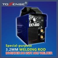 2015 New  IGBT INVERTER DC ARC/MMA WELDING MACHINE ZX7 200 220V