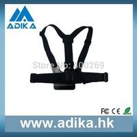 Adjustable Elastic Chest Strap Mount Harness for GoPro 4/3+/3/2/1/SJ4000 Camera Chest Strap Promotion GP26