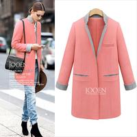 2014 New Arrival Women Winter Woolen Coat Plus Size Women Outwear,SB382