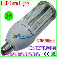 10pcs 21W LED Corn Light, Epistar SMD2835, Canopy/Flood/Supermarket/Post Top/Tunnel Lamp, E26/E27/E39/E40, Warm/Pure/Cold White