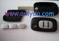 Renault  3 button remote key blank  NO LOGO