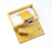 2015 New External Storage Wood USB 2.0 Memory Stick Flash 4gb/8gb/16gb/32gb Pen Drive  Wooden Package Pen Disk Boy Toys Gift