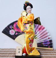 Free shipping Doll craft 12inch 30cm geisha japanese style Beautiful Hand made geisha doll Home decoration,creative gift