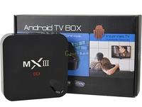 (10pcs/lot) MXIII Android 4.4 Amlogic S802 Quad-Core MX3 BOX 1GB/8GB Google Android TV Box Support OTA XBMC Pre-installed