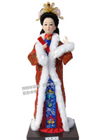 Free shipping Beauty Doll Ancient Chinese palace women  dolls home accessories decoration gift