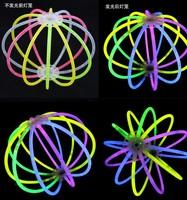 Free shipping 200pcs/lot 5*200mm multi color glow stick for wedding party Light Bracelets Glowsticks light stick High Quality