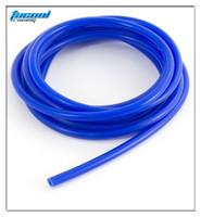 "10M Blue ID:5/32"" 0.16"" 4MM Silicone Vacuum Hose Pipe Tube Silicone Tubing 10M Free Shipping"