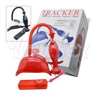 TRACKER passion powerful suction pump vaginal cat W / vibrating eggs set , fun sex toys female sex supplies