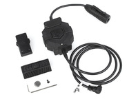 Ztac Style wireless PTT  Military Headset adaptor for Kenwood 2PIN  free shipping
