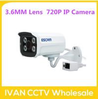 Escam Brick QD300 Mini Camera 720P IR Bullet H.264 1/4 CMOS IP Camera 3.6mm Lens Camera Night Vision P2P 1.0MP Mini Camera