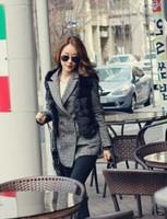 Autumn and winter fashion faux fur vest short Faux Fur Vest style
