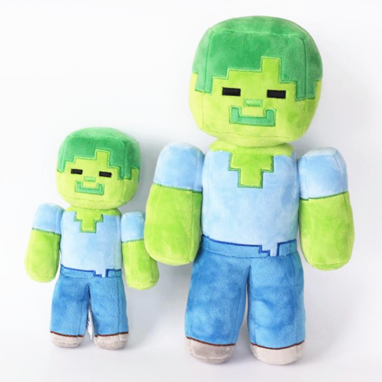 Toys zombie steve doll christmas gift free shipping china mainland