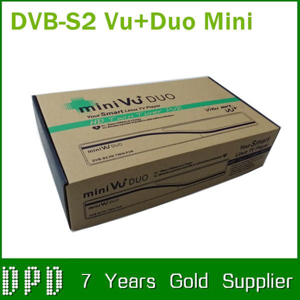 3pcs/lot mini Vu+Duo HD PVR best set top box by fedex free shipping()