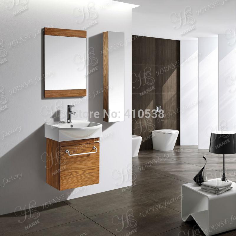 Kleine Badkamer Kast ~ kleine badkamer kast massief houten badkamer wastafel muur hing