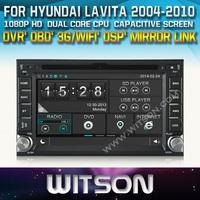 WITSON Car DVD GPS Navigation  for  HYUNDAI SONATA ELANTRA SANTA FE TUCSON GETZ i20 LAVITA+OBD / Mirror Link supported+DSP Audio