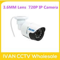 Escam QD330 bullet waterproof CCTV Security Camera 720P IR  H.264 1/4 CMOS IP Camera Night Vision P2P 1.0MP Mini Camera