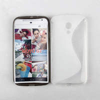 Free Shipping!! High quality s line soft tpu Case for MOTO G2  1000pcs/lot