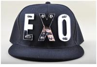 NEW 2014 Fashion Autumn and Winter EXO cap Men's Snapback Caps Rivet Baseball Caps Casquette hat Hip-hop Cap Sports Outdoors Cap