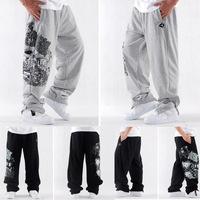 Winter thick cotton fleece mens sweat pants hiphop loose big size sweatpants for mens pants casual fashion sport pants L~XXXL