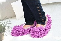 Strange new microfiber chenille chenille jacket lazy wipe slippers shoes wipe slippers sets