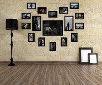Photo Frame Moldura Wood Home Living Room Wall Mounted Creative SM-17B-B Decoration Art Home Decor Wall Stickers Photo Albums